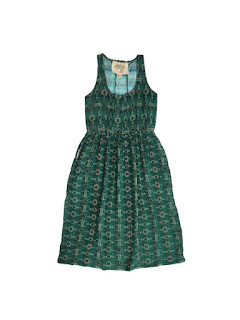 Ace & Jig Emerald Soiree Dress