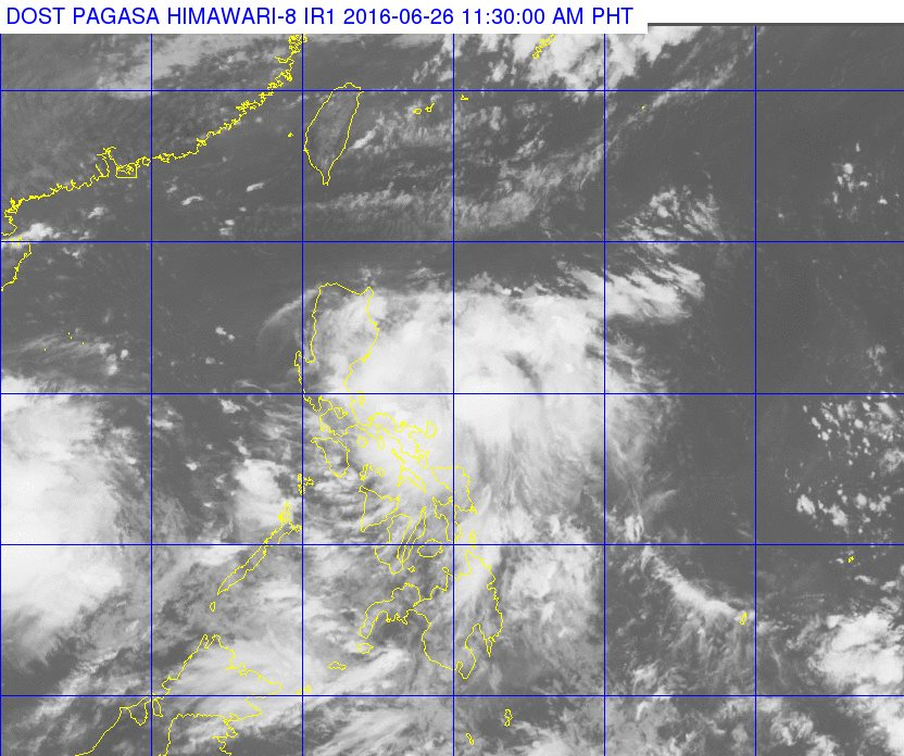 'Bagyong' Ambo: Signal No. 1 up in 6 areas as first tropical depression