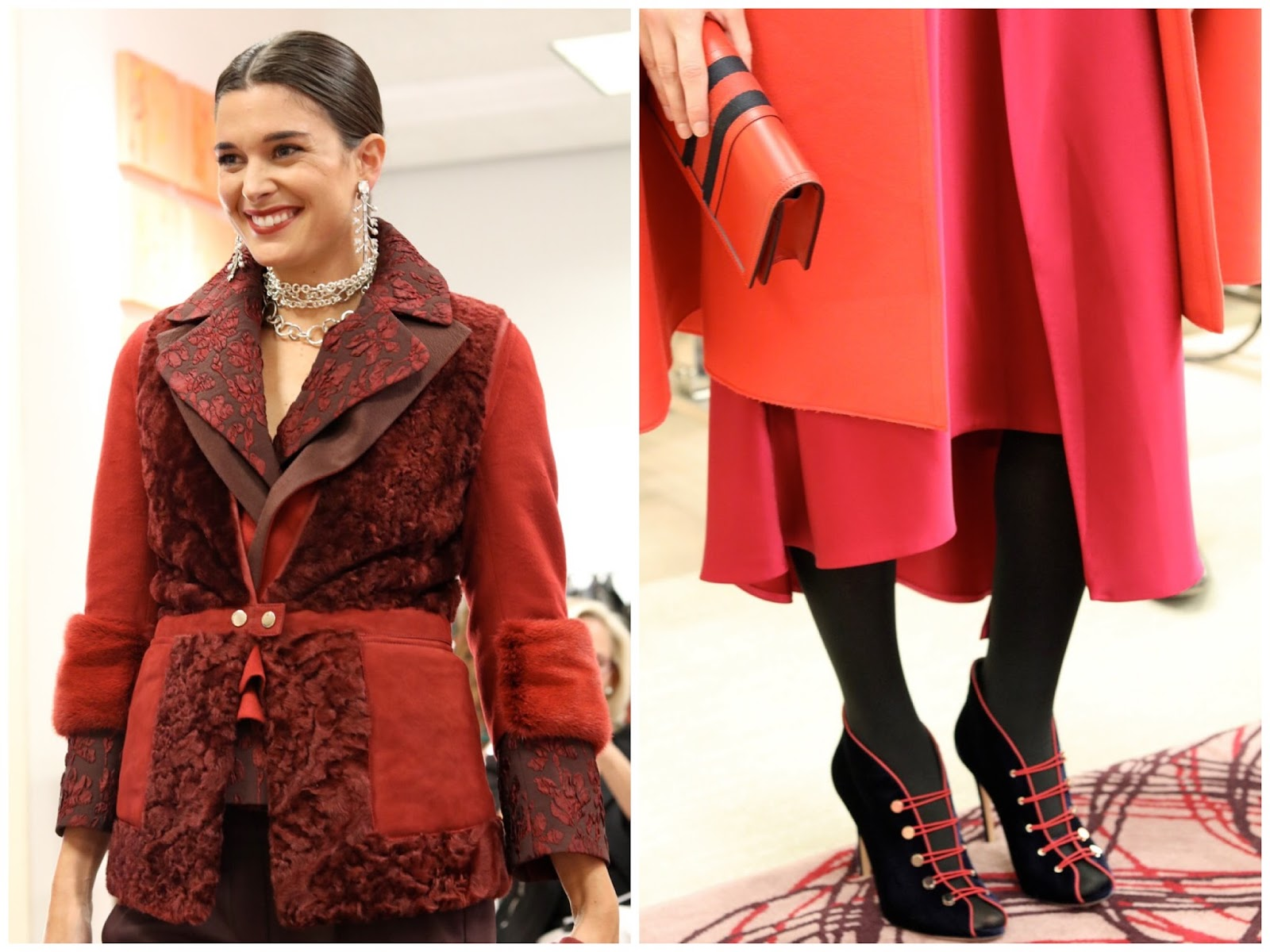 Neiman Marcus Fall 2016 Trend Report, fall 2016 berry tones, berry shades trends, deep reds for fall