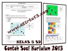 Contoh Soal dan Kunci Jawaban Kelas 5 SD  Kurikulum 2013