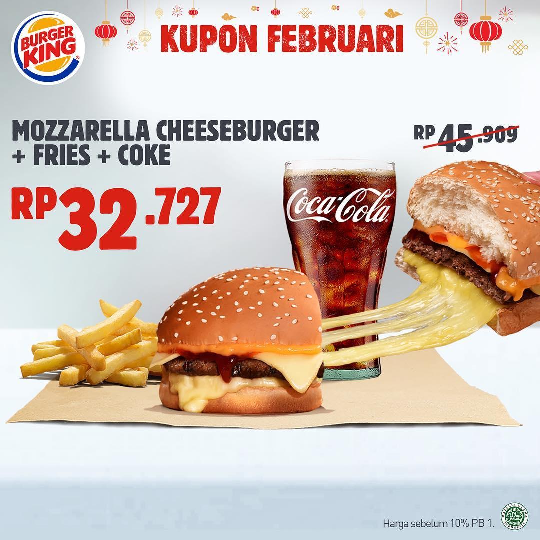 #BurgerKing - #Promo Kupon Double Hoki & Hepi Bulan Februari 2019