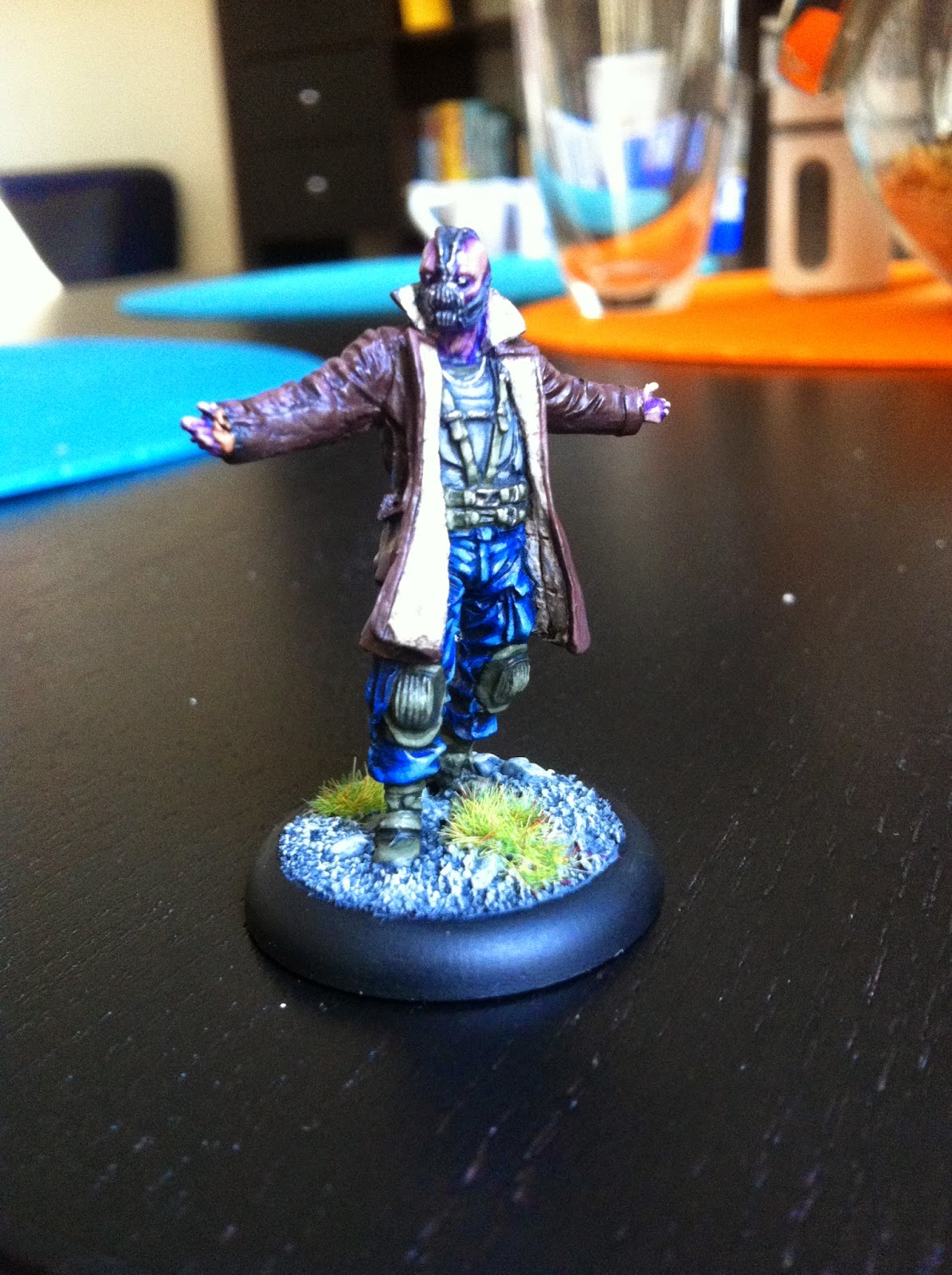 bane batman miniatures games