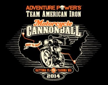 Adventure Power´s Team American Iron - Motorcycle Cannonball