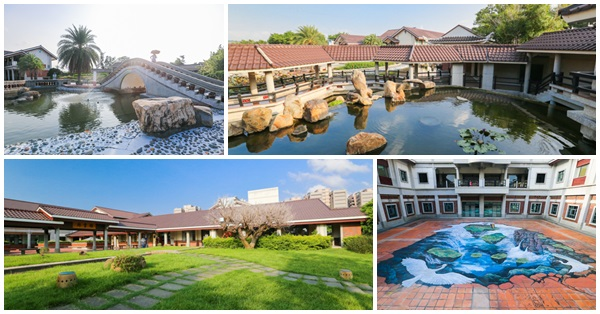 台中清水港區藝術中心,復古閩南式建築,外拍熱門地點