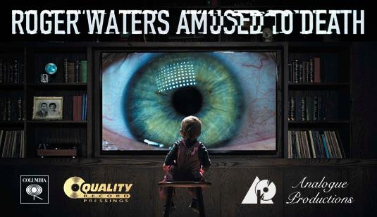 Blog VinylGourmet com: Roger Waters Amused To Death 200 Gram Vinyl