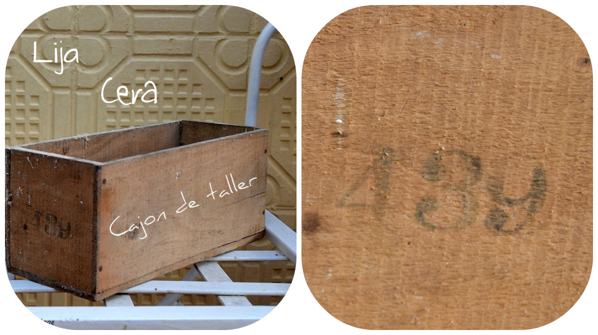 diy, cajon madera, decoracion, despacho, animalitos