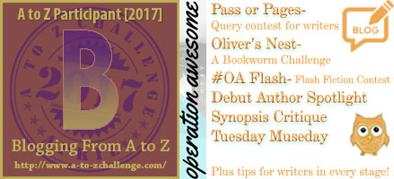 #AtoZchallenge 2017 Operation Awesome B is for Building Your Author Brand