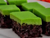 Resep Cara Membuat Kue Serimuka Pulut Hitam