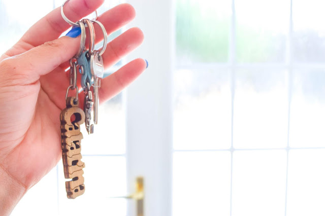 Home | Moving Day - getting the keys