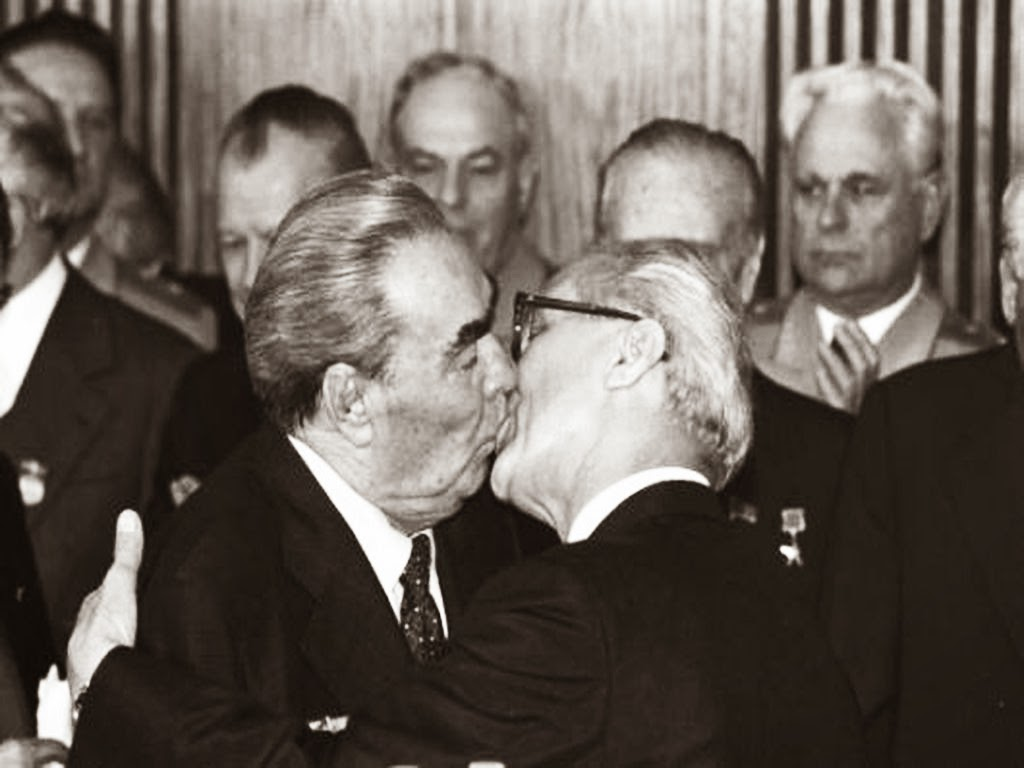 The Socialist Fraternal Kiss,