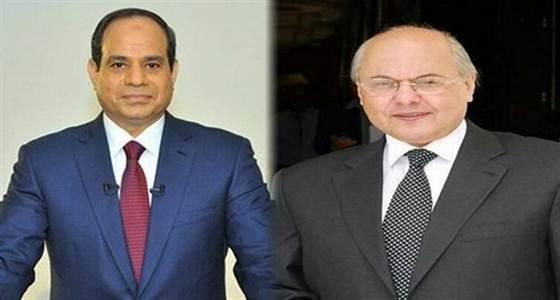 السيسي وموسى مصطفى موسى