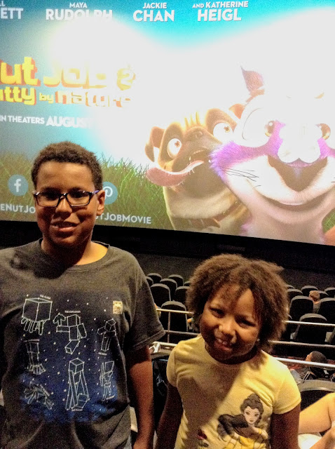 advanced screening of The Nut Job 2: #NuttybyNature