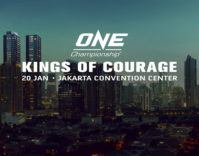 ONE KINGS OF COURAGE Teo Vs Xiong is set for 20 January 2018 In Jakarta Indonesia