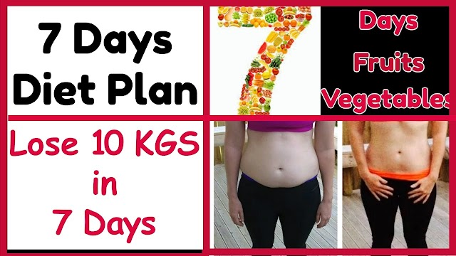 Weight Loss: Decrease 10 kg weight in 10 days, read complete diet chart
