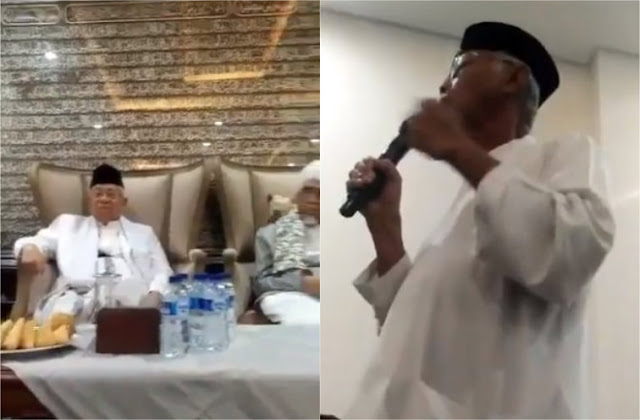 Kata Ma'ruf Amin, Video 'Tak Ada Zikir di Istana' Itu Hoaks
