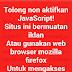 Kode HTML anti adblock opera browser untuk desktop