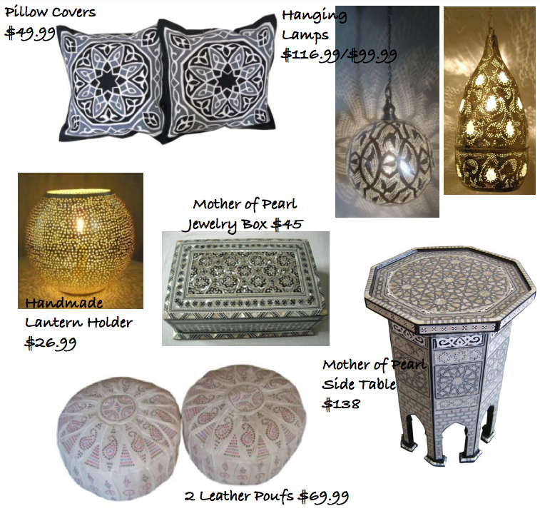 Travelmoon Arabian Home Decor