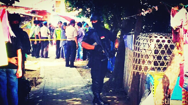 Lima Terduga Teroris Diamankan Densus 88 Antiteror