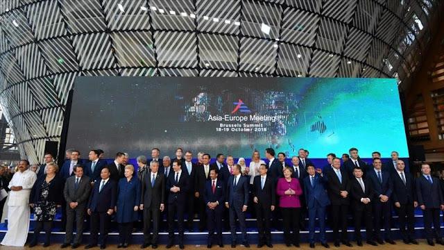 Europa y Asia refuerzan cooperación ante proteccionismo de EEUU