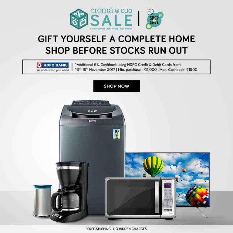 offers on Croma Store