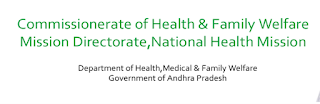 AP State Health & Family Welfare Society (RNTCP)/ CFW Notification 2017 www.cfw.ap.nic.in