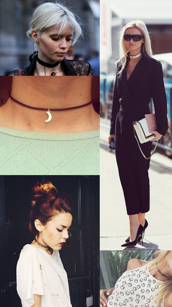 Trend To Try: The Choker Necklace (How To Wear It)
