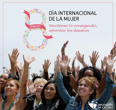 Mujeres, hombres, niñas y niños trabajando por la igualdad, son la voz y el rostro de la campaña de la Diputación del 8 de marzo