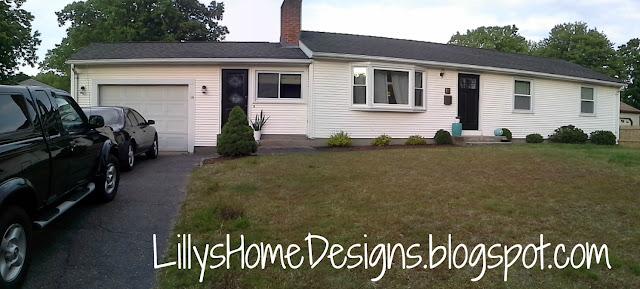 Front door makeover Lilly's Home Designs Modern Masters Black Elegant