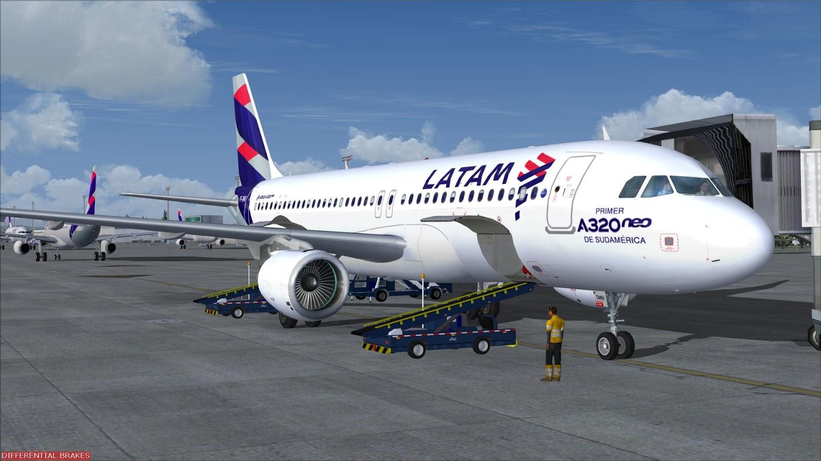 FSRepainter: PROJECT AIRBUS A320-200Neo LATAM Brazil PT-TMN // PT-TMM