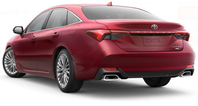 2021-red-flare-pearl-avalon-awd-limited-badge-taillights-exhaust