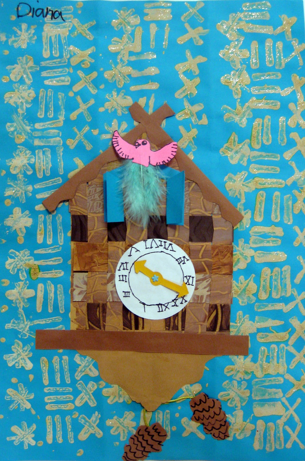 Cassie stephens in the art room the art show part 1 - Cuckoo clock plans ...