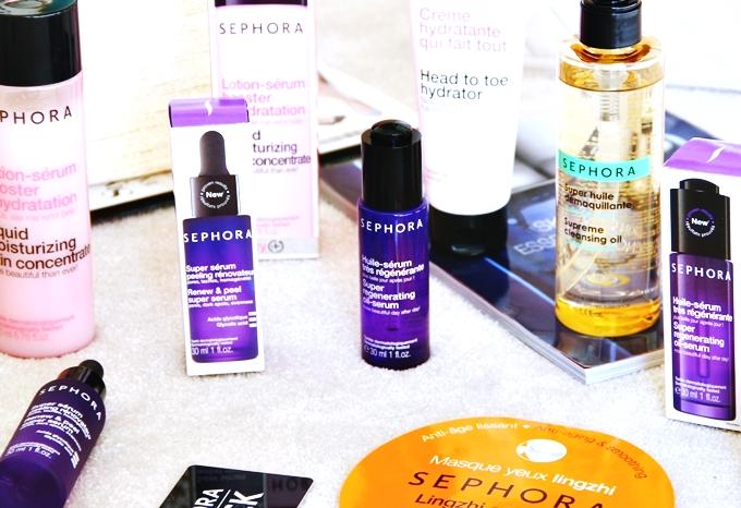 SEPHORA Skincare Haul.Sephora proizvodi za negu koze.Sephora Greece Περιποίηση Προσώπου.