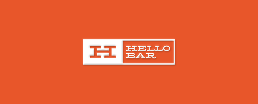 Augmenter son taux de conversion avec hello bar