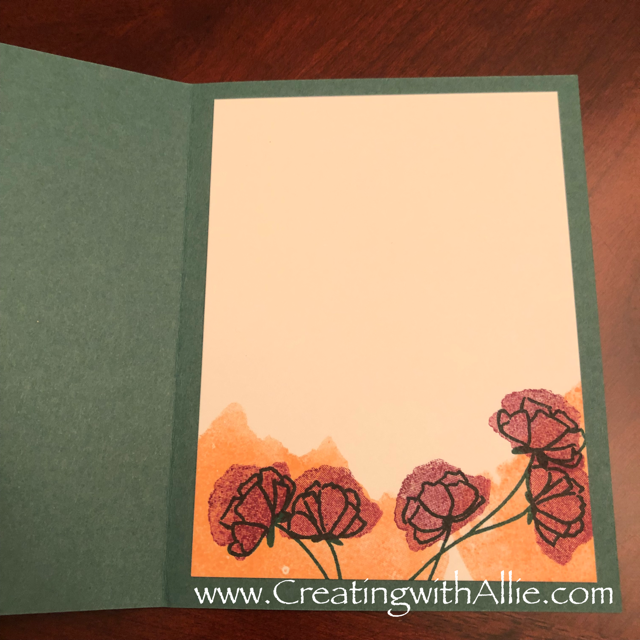 Check out the video tutorial showing you how to make a quick and easy card, where I show you tips and tricks for using Stampin Up's Share what you love and Nature's poem suites!  You'll love how quick and easy this is to make!  www.creatingwithallie.com #stampinup #alejandragomez #creatingwithallie #videotutorial #cardmaking #papercrafts #handmadegreetingcards #fun #creativity #makeacard #sendacard #stampingisfun #sharewhatyoulove #handmadecards #friendshipcards