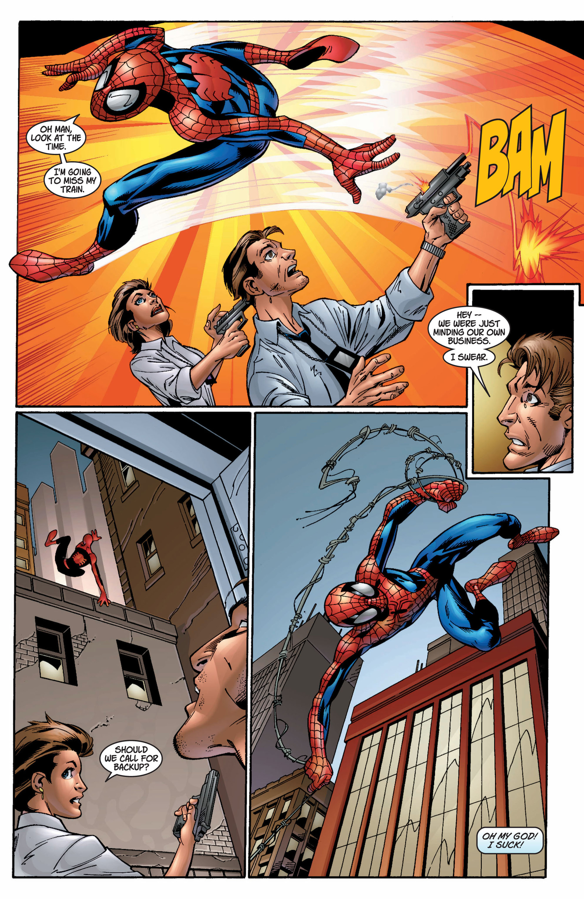 Read online Ultimate Spider-Man (2000) comic -  Issue #9 - 11