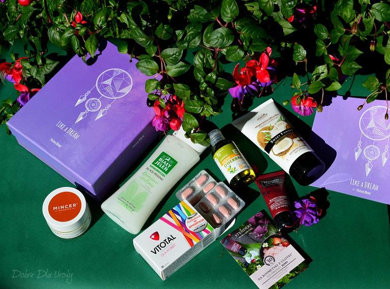 ShinyBox Like a Dream - recenzje produktów z sierpniowego pudełka
