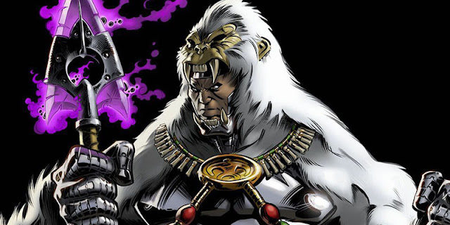 man-ape musuh black panther
