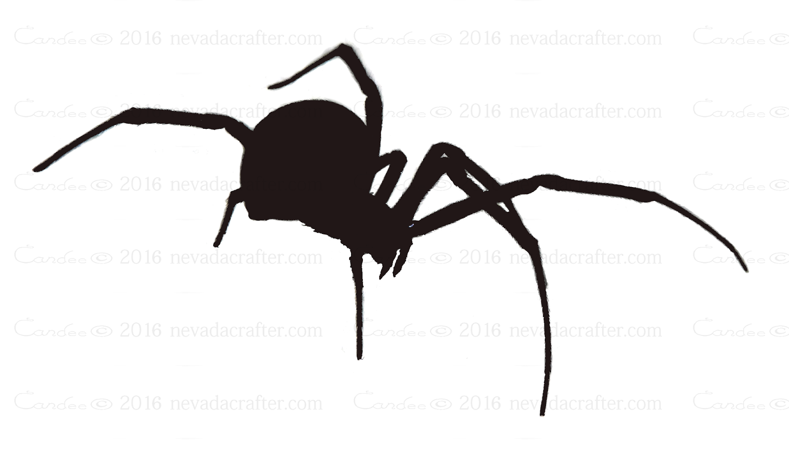 black widow spider silhouette - photo #1