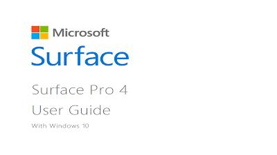 Microsoft Surface Pro 4 Manual Guide