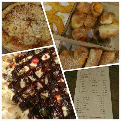 Makan Malam Santai Di Domino Pizza