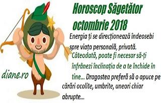 Horoscop Săgetător octombrie 2018