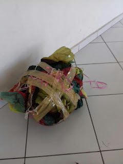 Balão de 6 metros quadrados é apreendido por Guardas da Divisão Florestal deJundiaí
