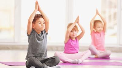 5 lợi ích khi trẻ tập luyện Yoga