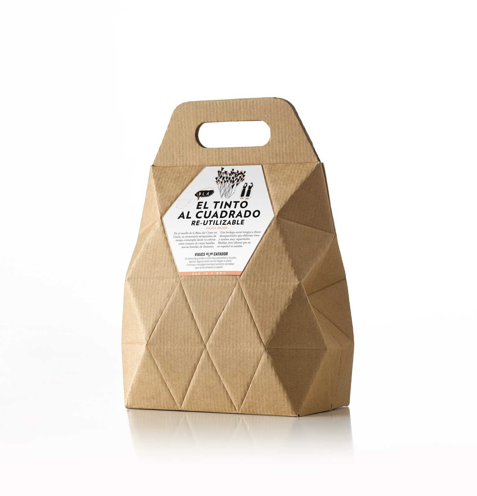 Bag In Box Viajes De Un Catador On Packaging Of The World Creative Package Design Gallery