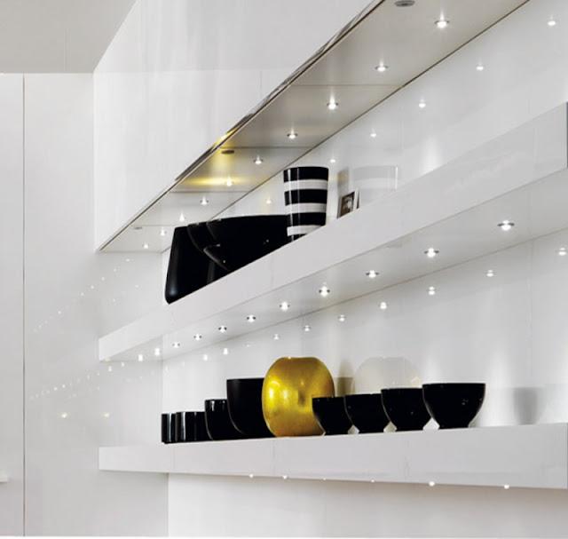 La iluminaci n integrada en la cocina cocinas con estilo - Iluminacion muebles cocina ...