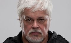 Paul Watson, co-fundador de Greenpeace e fundador da Sea Shepherd Conservation Society: