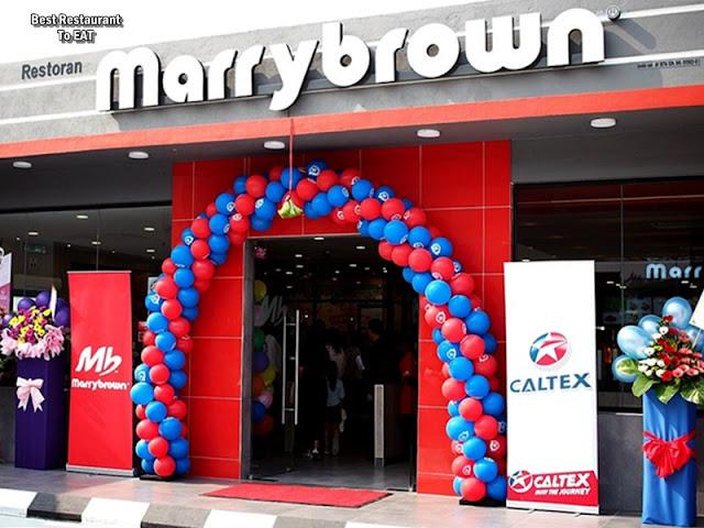 MARRYBROWN @CALTEX SUNGAI CHOH RAWANG
