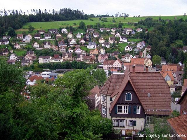 Altensteig, Selva Negra, Alemania