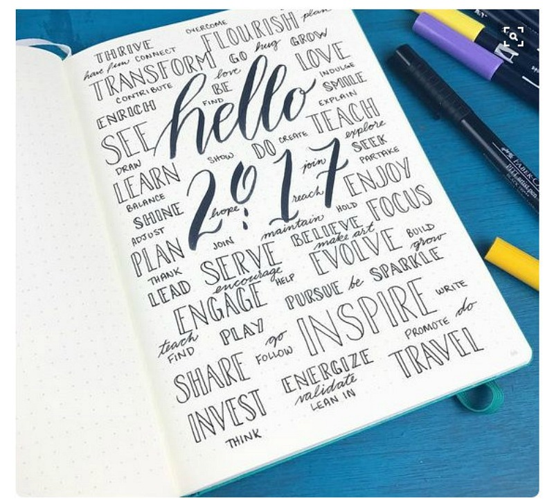 bullet journal 2017 pinterest