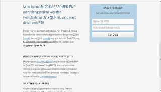 Download Formulir NUPTK